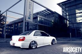 bagged subaru forester bagged subie subaru sti airbags stance pinterest