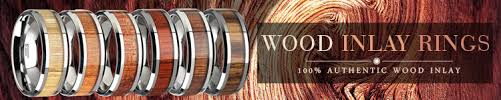 wood wedding rings wooden wedding rings larson jewelers