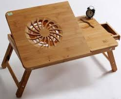 Small Table Fan Souq Multi Functional Laptop Table Bamboo Portable Bed Tray Price