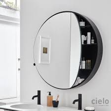 Round Bathroom Mirrors by Designer Bathroom Mirrors Ceramica Cielo
