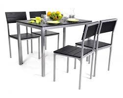 table cuisine chaise best table de cuisine noir gallery amazing house design