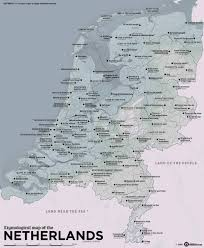 helmond netherlands map a map of the netherlands with cities and provinces translated