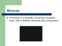 The Way A Mineral Reflects Light Mineral Identification Vocabulary Appearance What A Mineral Looks