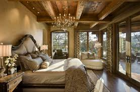 rich home decor a look at 20 rustic bedrooms homes of the rich