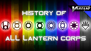 Different Names Of Green by History Of All The Lantern Corps Youtube