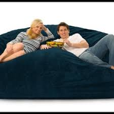 bean bag beds with built in pillow and blanket for adults
