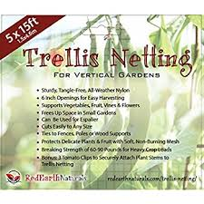 amazon com trellis netting for smart gardeners supports