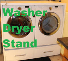 Lg Washer Pedestal White Washer And Dryer Stand With Detergent Dispenser Feature Youtube