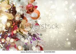 White Christmas Tree With Orange Decorations by Gold Christmas Tree Stock Images Royalty Free Images U0026 Vectors