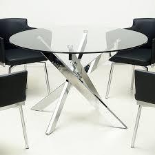glass circle dining table u2013 sl interior design