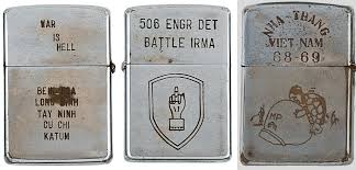 Why Won T My Zippo Light Heartfelt Messages On Zippo Lighters Of The Vietnam War 1965