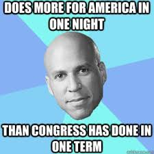 Cory Booker Meme - new jersey gays rejoice cory booker to marry off gays on monday