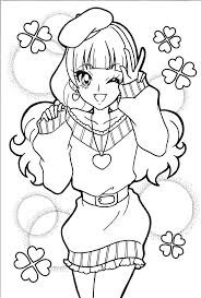 princess precure coloring pages coloring pages in santa claus