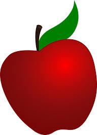 apple cartoon apple red fruit free vector graphic on pixabay