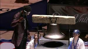rings bell images Joel embiid rings bell prior to sixers heat game 1 jpg