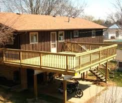 two story deck designs st louis decks screened porches2nd floor