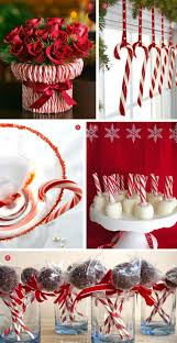 centerpieces with candy desserts candy cane treats exquisite weddings