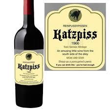 wine bottle labels katzpiss wine bottle labels