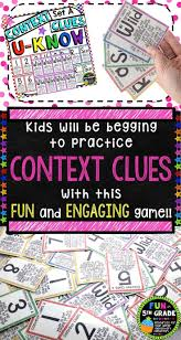 best 25 context clues meaning ideas on pinterest 5th grade