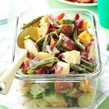 roasted potato green bean salad recipe taste of home