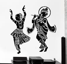 2016 buddha dance indian hinduism wall sticker home decor wall