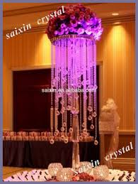 gorgeous wedding table decoration crystal glass flower stand buy