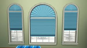 mod the sims wcif blinds for arched basegame windows
