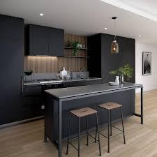 Modern Kitchen Decor Pictures Modern Black Kitchen Design Nurani Org