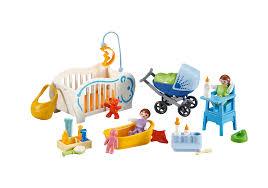 chambre bébé playmobil equipements pour bébés 6226 playmobil