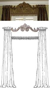 Decorative Traverse And Stationary Drapery by 555 Best Window Treatments Images On Pinterest Window Treatments