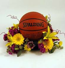 Basketball Centerpieces Floral Arrangements Centerpieces Free Here