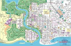 Seattle Monorail Map by Map Of Springfield The Simpsons 2443x1594 Mapporn