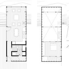 simple floor plan with 2 bedrooms of simple minimalist house plans