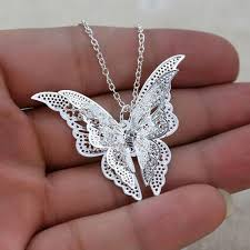 long butterfly necklace images Women 39 s long chain butterfly necklace uniquely memorable gifts jpg