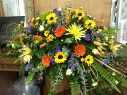 casket spray wildflower casket spray casket spray in kingston tn humble bee