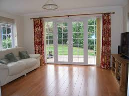 Patio Door Curtains Flower Patio Door Curtain Ideas Affordable Modern Home Decor
