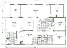 Triple Wide Floor Plans The Tradewinds Is A Beautiful 4 Bedroom 2 Bath Triple Wide