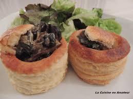 cuisine en bouche la cuisine en de maryline bouchées aux escargots et aux cèpes
