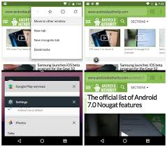newest android update android 7 0 nougat review features updates and changes