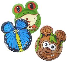 amazon com hefty zoo pals rainforest plates 1 package of 20