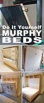 Do It Yourself Bunk Bed Plans Diy Murphy Bunk Bed Plans Intended For Home Design Ideas Pictures