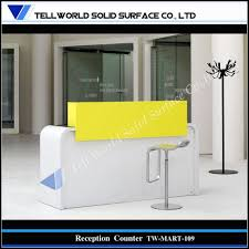 Acrylic Reception Desk Home Office Small Acrylic Solid Surface Office Reception Desk