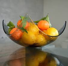 modern minimalist fruit bowl centerpiece salad bowl