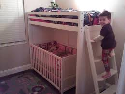 Loft Bed With Crib Underneath 50 Toddler Bunk Bed Toddler Bunk Beds Loft Bed Pinterest