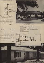 california plan book 1946 vintage house plans 1940s