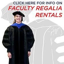 graduation gown rental ku bookstore faculty regalia