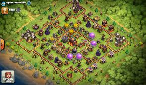 big clash of clans base clash of clans war strategies 2016 is two rounded base in town hall