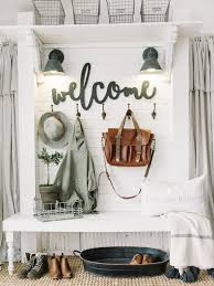 farmhouse foyer decor challenge beauty for ashes