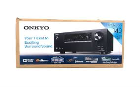 home theater 5 1 onkyo a v home theater receiver 5 1 channel black tx sr353 see