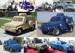 police armored vehicles hit mohafiz